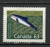 Canada - Kanada 1990 Y&T N°1171 - Michel N°1215 Nsg - 63c Marsouin - 1952-.... Règne D'Elizabeth II