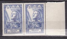 N° 768 Jeanne D'Arc: Une Paire De 2Timbres Neuf Impeccable Sans Charnière - France