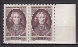 N° 785 En L'Honneur De Fénélon: Une Paire De 2 Timbres Neuf Impeccable Sans Charnière - France
