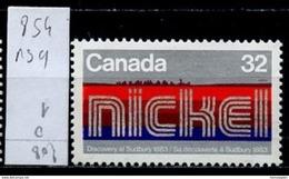 Canada - Kanada 1983 Y&T N°854 - Michel N°890 Nsg- 32c Découverte Du Nickel - 1952-.... Règne D'Elizabeth II