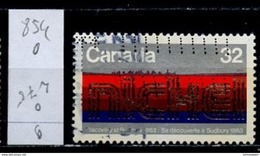 Canada - Kanada 1983 Y&T N°854 - Michel N°890 (o) - 32c Découverte Du Nickel - 1952-.... Règne D'Elizabeth II