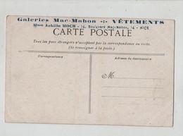 Galeries Mac Mahon Vêtements Moch Nice  Paris Conservatoire Arts Et Métiers 1904 - Publicité