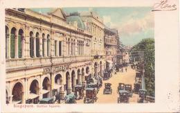 ALTE AK  SINGAPUR / Asien  - Raffles Square - 1907 Gelaufen - Singapour