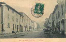 42 - BELLEGARDE EN FOREZ -  LA FARGE - CACHET PERLE POINTILLE - Frankrijk