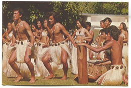 Cook Islands - Tereora Drum Dance - Cook