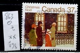 Canada - Kanada 1983 Y&T N°863 - Michel N°899 (o) - 37c Noël - 1952-.... Règne D'Elizabeth II