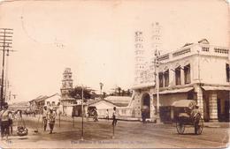 ALTE AK  SINGAPUR / Asien  - The Hindoo & Mohamedan Temple - 1918 Gelaufen - Singapour