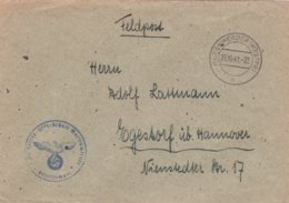 German Feldpost WW2: Heeres Unteroffiziers Schule In Marienwerder (now Poland) P/m Marienwerder (Westpr) - Militaria