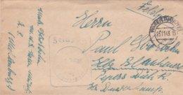 German Feldpost WW2: Marinenachrichtenschule Waren P/m Waren (Müritz) 25.11.1943 - Letter Inside (DD24-52) - Militaria