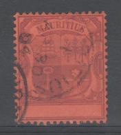 """MAURICE:  N°116 Oblitéré, Variété """"SANS Valeur Dans Le Cartouche"""" - Maurice (...-1967)"""