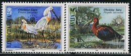 BB2090 Yugoslavia 1996 Environmental Bird 2V MNH - Timbres