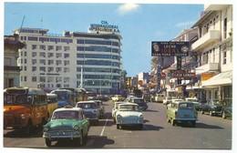 Panama - PANAMA CITY, Old Car, Bus - Panama