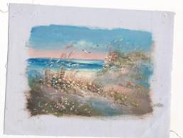 AC -B3418 - Jolie Peinture Sur Toile  Format Environ   175x230mm ( Nature, Sujet, état ... Voir Scan) - Autres Collections