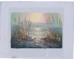 AC -B3420 - Jolie Peinture Sur Toile  Format Environ   180x222mm ( Nature, Sujet, état ... Voir Scan) - Autres Collections