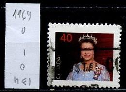 Canada - Kanada 1990 Y&T N°1169 - Michel N°1213 (o) - 10c Elisabeth II - 1952-.... Règne D'Elizabeth II