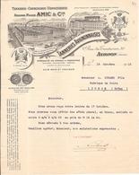 Facture Amic Tannerie Corroierie Vernisserie Avignon 84 Vaucluse - Cars