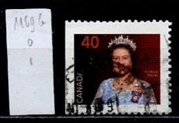 Canada - Kanada 1990 Y&T N°1169g - Michel N°1213Dl (o) - 10c Elisabeth II - 1952-.... Règne D'Elizabeth II