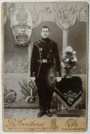 In Memory Of Military Service. Life Guards Egersky Regiment, 15th Company, St. Petersburg. Photographer - Yankovsky - Krieg, Militär