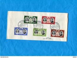 MARCOPHILIE-Monaco-Enveloppe+signature Graveur B MIANEsérie Mariage-N°473-7 Cad 19+ Avril 1956+ - Monaco