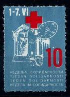 Yugoslavia 1986: Red Cross, Solidarity Week. MNH(**) - Bienfaisance