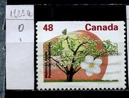 Canada - Kanada 1991 Y&T N°1225h - Michel N°1278Du (o) - 48c Pommier - 1952-.... Règne D'Elizabeth II