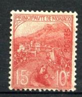 MONACO  - 29 -  15c + 10c Rose  Orphelins De Guerre - Neuf N* - Très Beau - Monaco