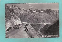 Old Postcard Of  Susten Pass.Innertkirchen To Wassen,Swiss Alps.,Switzerland,J45. - Other