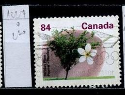 Canada - Kanada 1991 Y&T N°1227 - Michel N°1272 (o) - 84c Prunier - 1952-.... Règne D'Elizabeth II