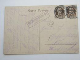 1915, Ca., Feldpostkarte Bäckereikolonne - Bavaria