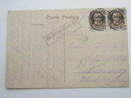 1915, Ca., Feldpostkarte Bäckereikolonne - Bayern