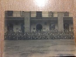 Photo Carte Militaire Militaria Caserne - Guerre 1914-18