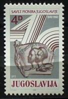 Yugoslsvia 1982: 40th Anniv Of Pioneer League*** MNH - Neufs