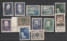 Ex. Jahr 1953 Und 1954 - Schönes Lot Gestempelt - 1945-.... 2. Republik