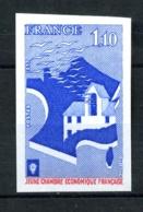 1942a - 1,1oF  Jeune Chambre Economique - Non Dentelé - Neuf N** - Très Beau - No Dentado
