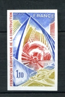1934a - 1,1oF  Construction - Non Dentelé - Neuf N** - Très Beau - No Dentado