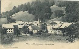 CPA Suisse Villars Sur Mont Gruyere Vue Generale Voyage 1906 Rare - FR Fribourg