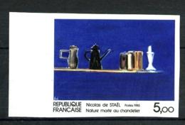2364a - 5,ooF  Nicolas De Staël - Non Dentelé - Bord De Feuille - Neuf N** - Très Beau - No Dentado