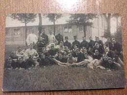 Photo Carte Militaire Militaria Caserne  Léopoldburg Camp - Guerre 1914-18
