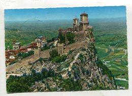 SAN MARINO  - AK 340385 La Citta E Le Mure Castellane - Saint-Marin