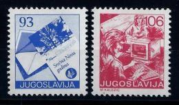 Yugoslavia 1987: Definitive, Postal Services. MNH (**) - Neufs