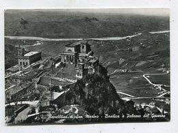SAN MARINO  - AK 340394 Basilica E Palazzo Del Guverno - Saint-Marin
