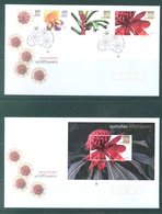 AUSTRALIA  - FDC - 7.2.2006 - WILDFLOWERS - Yv 2409-2412 BLOC 87 - Lot 18583 - Premiers Jours (FDC)