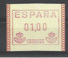 ATM FRAMA CORREOS 1989 NUEVO - España