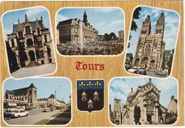 Tours: SIMCA 1000, CITROËN DS, Rue Nationale Et L'église St Julien - CITROËN 2CV, RENAULT DAUPHINE Cathédrale St Gatien - Toerisme