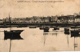 CAMARET -29- LE PORT ET VUE GENERALE SUR LE QUAI GUSTAVE TOUDOUZE - Camaret-sur-Mer