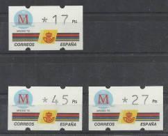 ATM MADRID CAPITAL CULTURAL KLUSSENDORF - España