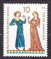 BERLIN 1970,  MNH STAMP WITH PLATE FAULT ( PLATTENFEHLER ), Michel 354 I. Good Condition, See The Scans. - [5] Berlin