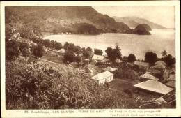 Cp Les Saintes Terre De Haut Guadeloupe, Le Fond De Curé, Häuser - Guadeloupe