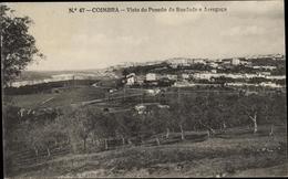 Cp Coimbra Portugal, Vista Do Penedo Da Saudade E Arregaca - Portugal