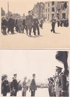 ¤¤  -   BREST   -  Lot De 6 Photos De La Visite Du Général De Gaulle En 1947   -  Voir Description  -  ¤¤ - Brest
